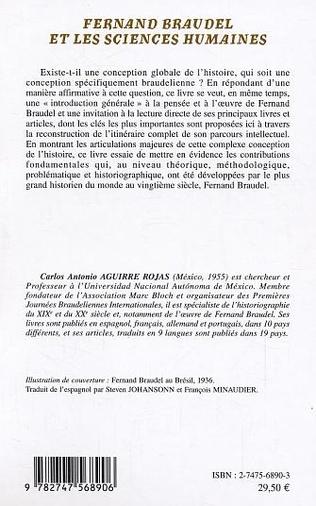 4eme Fernand Braudel et les sciences humaines