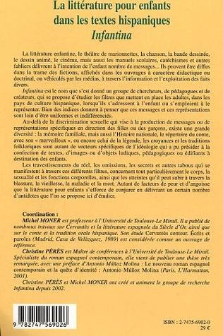 4eme La littérature pour enfants dans les textes hispaniques