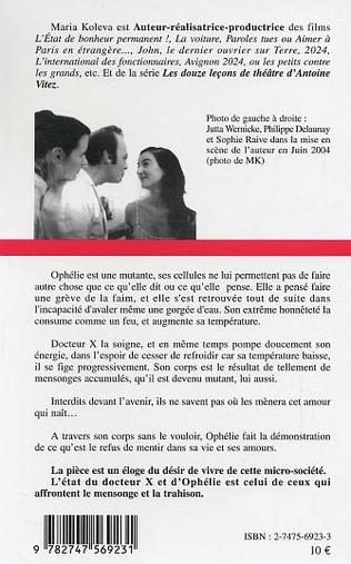 4eme Ophélie fait la grève de la faim avec docteur X en arrière plan