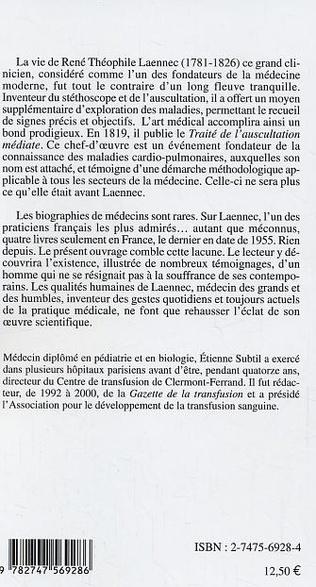 4eme René Théophile Laennec