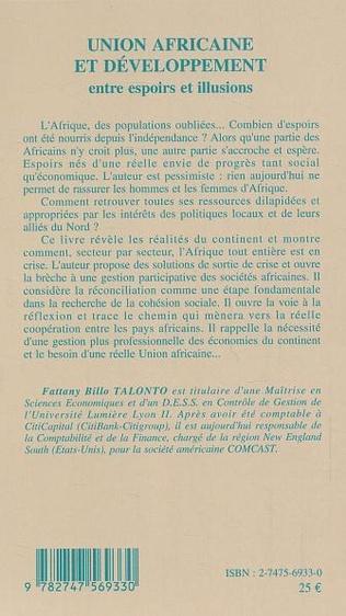 4eme Union africaine et développement