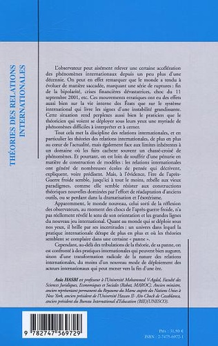 4eme Théories des relations internationales