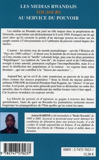 4eme Les médias rwandais toujours au service du pouvoir