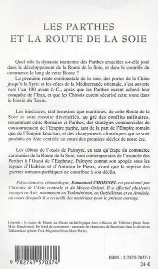 4eme Les Parthes et la Route de la Soie