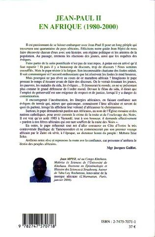 4eme Jean-Paul II en Afrique (1980-2000)