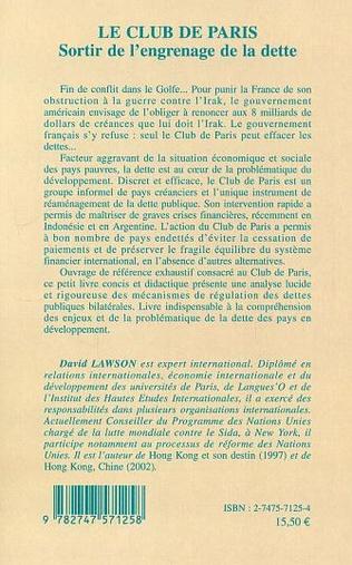 4eme Le Club de Paris