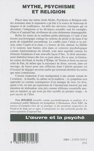 4eme Mythe, psychisme et religion