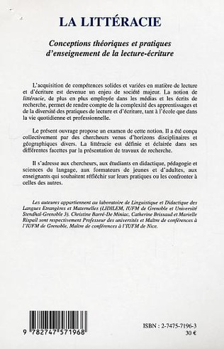 4eme La Littéracie