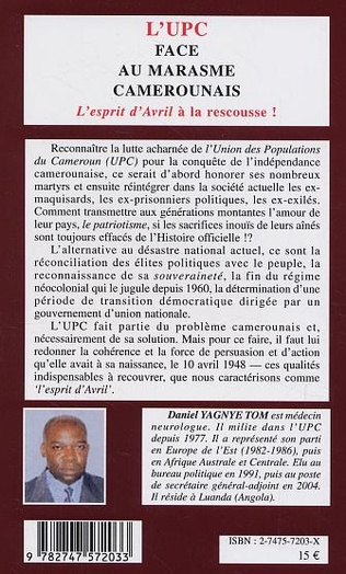 4eme L'UPC face au marasme camerounais