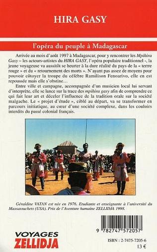 4eme Hira Gasy l'opéra du peuple à Madagascar