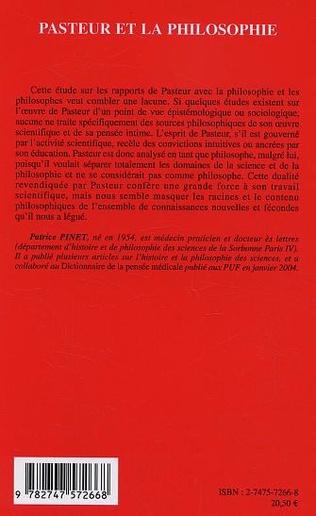 4eme Pasteur et la philosophie