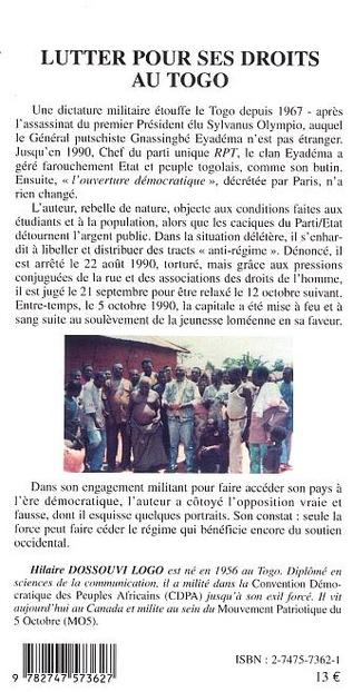 4eme Lutter pour ses droits au Togo