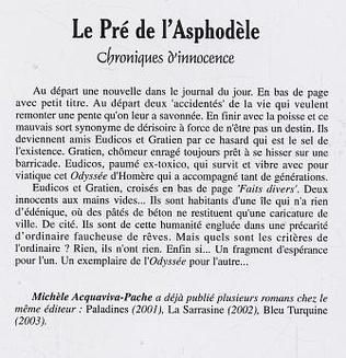 4eme Le Pré de l'Asphodèle