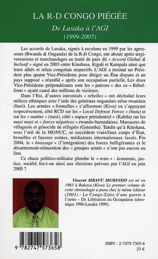 4eme La R-D Congo piégée