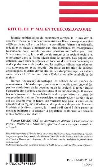 4eme Rituel du 1er mai en Tchécoslovaquie