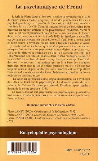 4eme La psychanalyse de Freud