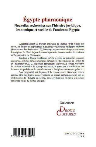 4eme Egypte pharaonique
