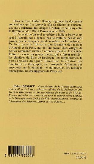 4eme Auteuil et Passy