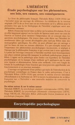4eme L'hérédité