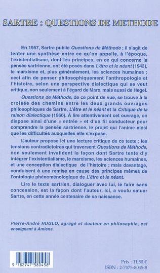 4eme Sartre