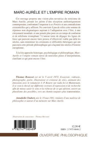 4eme Marc-Aurèle et l'empire romain