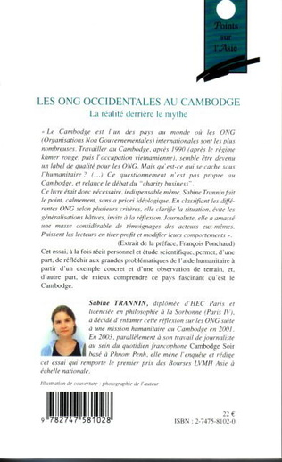 4eme Les ONG occidentales au Cambodge