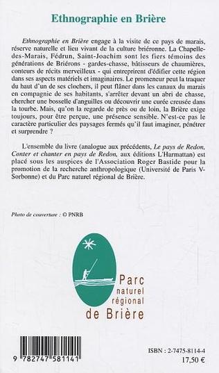 4eme Ethnographie en Brière