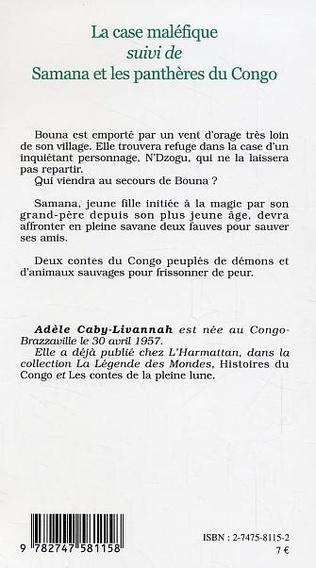 4eme La case maléfique suivi de Samana et les panthères du Congo