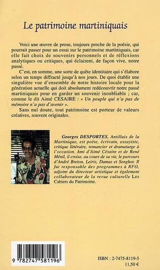 4eme Le patrimoine martiniquais
