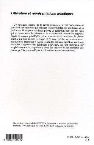 4eme Littérature et représentations artistiques