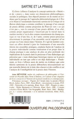 4eme Sartre et la praxis