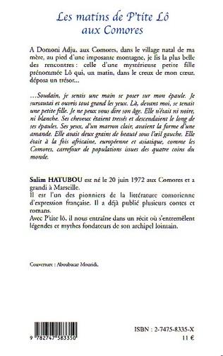 4eme Les matins de P'tite Lô aux Comores