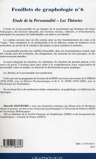 4eme Feuillets de graphologie n°6