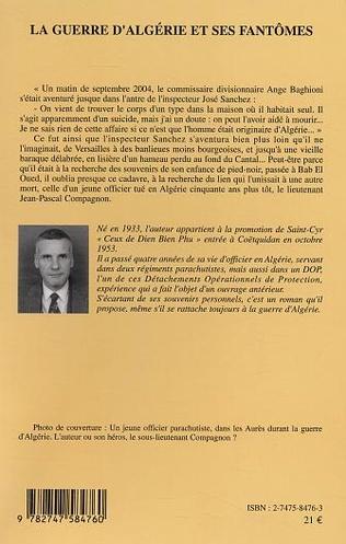 4eme La guerre d'Algérie et ses fantômes