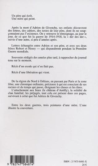 4eme MON INSOUCIANCE DE 1914 ET NOS ANGOISSES DE 1939 A 1944