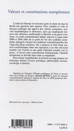 4eme Valeurs et constitutions européennes