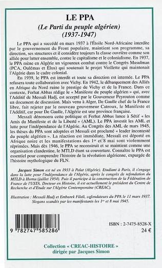 4eme Le PPA (Le Parti du peuple algérien)