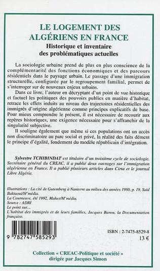 4eme Le logement des algériens en France