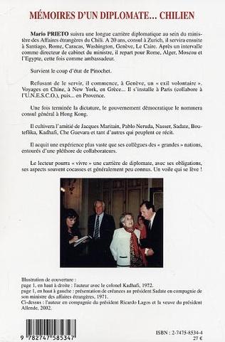 4eme Mémoires d'un diplomate... chilien