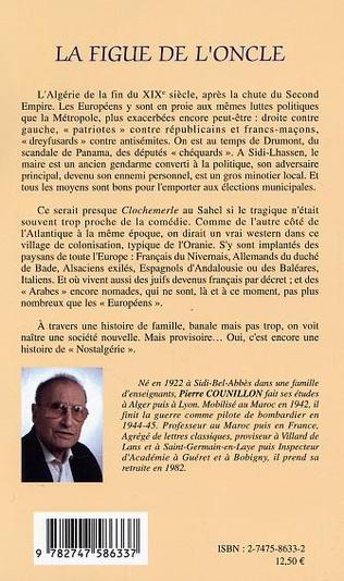 4eme La figue de l'oncle, l'Algérie de Grand-Papa