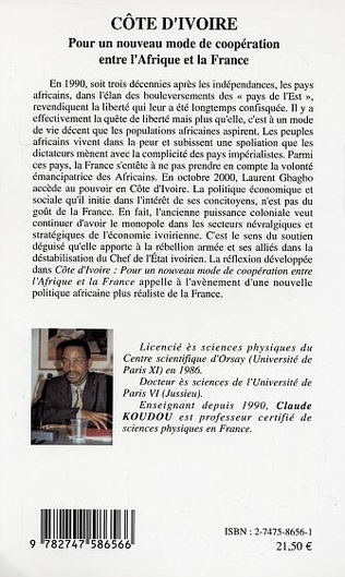 4eme Côte d'Ivoire Pour un nouveau mode de coopération entre l'Afrique et la France