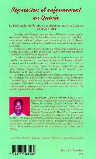 4eme Répression et enfermement en Guinée