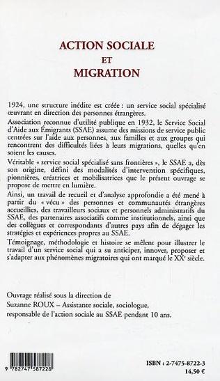 4eme Action sociale et migration
