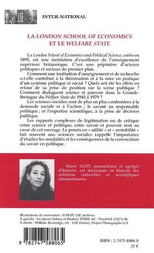 4eme La London School of Economics et le Welfare State