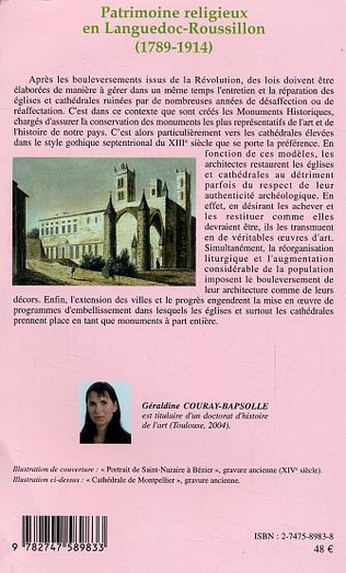 4eme Patrimoine religieux en Languedoc-Roussillon