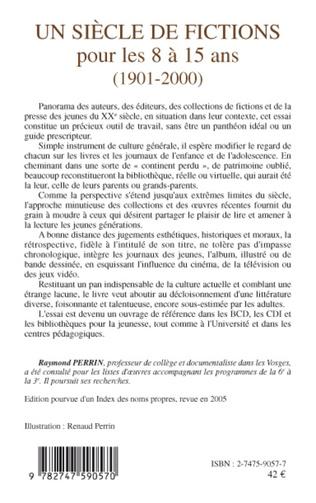 4eme Un siècle de fictions pour les 8 à 15 ans (1901-2000)
