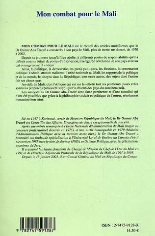 4eme Mon combat pour le Mali