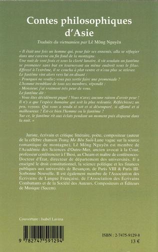4eme Contes philosophiques d'Asie