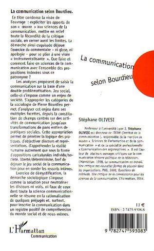 4eme La communication selon Bourdieu