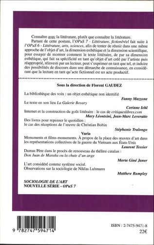 4eme Littérature, Fiction/Réel